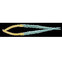 Micro nadelhalter Castroviejo mit extra dickem Maul
